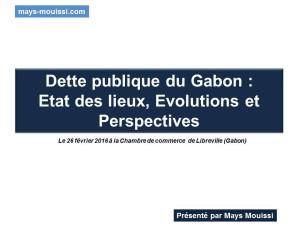 Dette-publique-Gabon-Evolution
