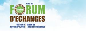 Forum d'échange GRAINE du 5 au 7 novembre 2015 à Angondjé (GABON)