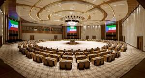 Centre de conférence de la ville nouvelle de Sipopo © lindeco.com