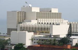 Le palais présidentiel de Libreville © Gabonreview
