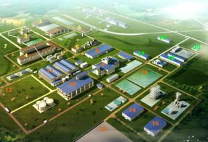 Le plan du complexe métallurgique de Moanda
