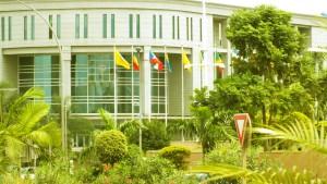 Siège du parlement de la CEMAC à Malabo (Guinée Equatoriale)