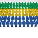 Population du Gabon, département par département